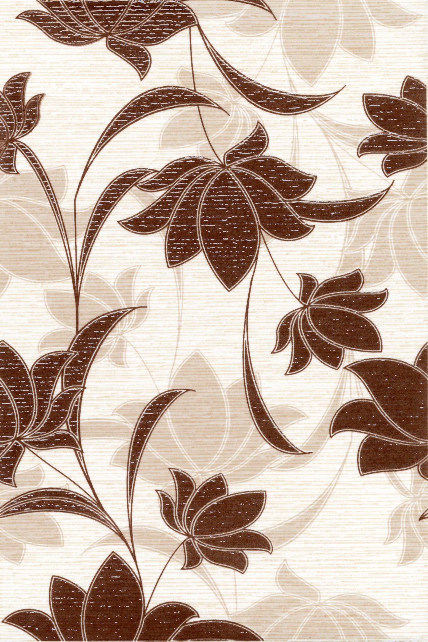 Laura Flowers декор (шоколад), 20х30