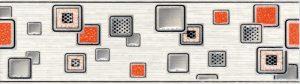 Laura Cube бордюр (серый), 20х5,7