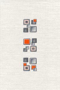 Laura Cube декор (серый), 20х30