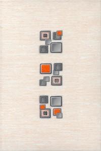 Laura Cube декор (оранжевый), 20х30