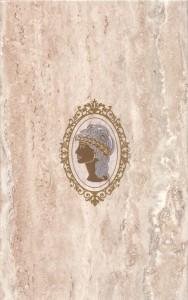 Travertin Medalion декор настенный 1 (кремовый), 25х40