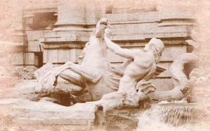Travertin Fontana di Trevi декор-2, 40х25