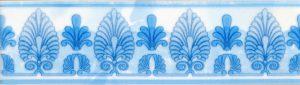 Бордюр 5,7х20 Восток голубой