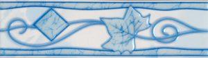 Бордюр 5,7х20 Тибет голубой