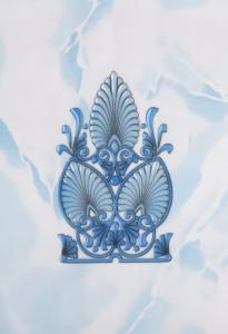 Декор 20х30 Восток голубой