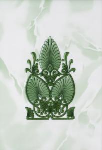 Декор 20х30 Восток зеленый