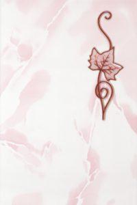 Декор 20х30 Тибет розовый