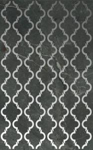 TD-MA-D-QT Декор 25х40 MIDDLE AGE QUATREFOIL